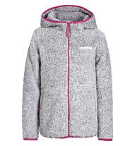 Icepeak Lindsay Jr. Fleecejacke - Kinder, Grey/Pink