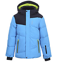 Icepeak Linton - giacca da sci - bambino, Light Blue/Grey