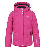 Icepeak Giacca sci bambina Nikki JR, Pink/Light Blue