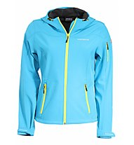 Icepeak Giacca Softshell Pirke, Light Blue