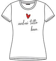 Iceport #andràtuttobene - T-shirt - Damen, White