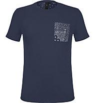 Iceport Colbert - T-Shirt - Herren, Blue