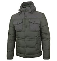 Iceport Down Town Man Giacca, Dark Green