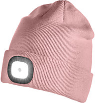 Iceport Led Beanie Lighty - Wollmütze mit Lampe, Rose