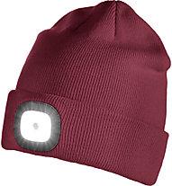 Iceport Led Beanie Lighty - berretto, Dark Red