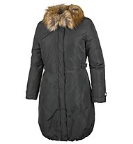 Iceport Long Parka Jacket Woman Giacca Donna, Black