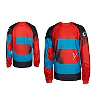 Ion Tee LS Voltage - Maglia Manica Lunga, Fiesta Red