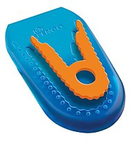 Ironman Heel Cushions Gel - alzatacco, Blue/Orange