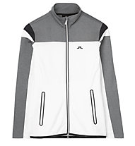 J.Lindeberg W Tanaga Blocked - Fleecejacke - Damen, White