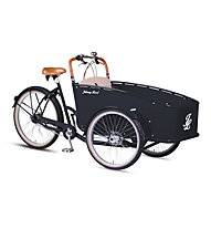 Johnny Loco E-Cargo Dutch Delight (2017) E-Bike, Black