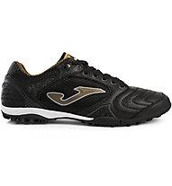 Joma Dribling Turf - scarpa da calcio terreni duri, Black/Gold