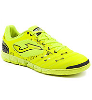 Joma Liga 5 Indoor - scarpe calcetto indoor, Yellow