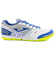 Joma Mundial - scarpe calcetto indoor, White/Blue