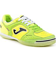 Joma Top Flex Scarpe Calcetto Indoor, Green/Yellow