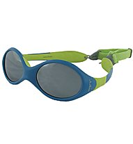 Julbo Looping II - occhiale da sole bimbo, Blue/Lime Green