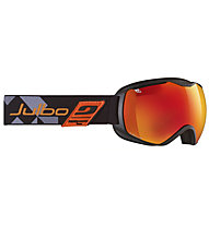 Julbo Quantum Orange - Maschere da sci, Black/Orange