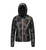 K-Way Lily Plus Double Graphic - giacca con cappuccio - donna, Black