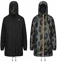 K-Way Sophie Plus Double Graphic - giacca tempo libero - donna , Black/Grey