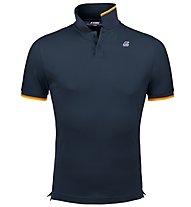 K-Way Vincent Contrast Stretch - Poloshirt - Herren , Blue