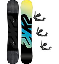 K2 Set Snowboard Afterblack + attacco