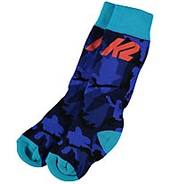 K2 All Mountain 2 Pack - Skisocken - Kinder, Blue/Black