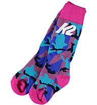 K2 All Mountain 2 Pack - Skisocken - Kinder, Pink/Blue