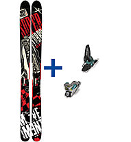 K2 Skis Annex 118 FR Set: Ski+Bindung