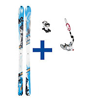 K2 Skis BackLite Set: Ski + Bindung