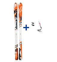 K2 BackUp ST Set: Ski+Bindung