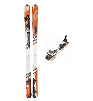K2 Skis BackUp Telemark Set: Ski+Bindung