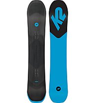 K2 Broadcast Wide - snowboard freestyle, Black