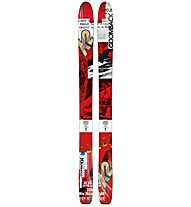 K2 Coomback 114 - Sci da freeride, Red/Black