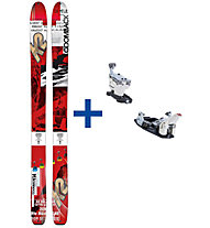 K2 Skis CoomBack 114 Set: Ski+Bindung
