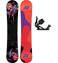 K2 Set Snowboard First Lite + Snowboard-Bindung
