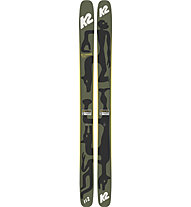 K2 Reckoner 112 Geoff McFetridge - sci freeride, Dark Green/Black