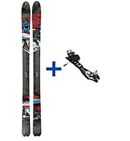 K2 HardSide (2012/13) FR Set: Ski+Bindung