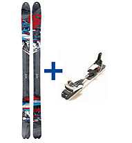 K2 Skis HardSide (2012/13) TM Set: Ski+Bindung