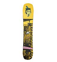 K2 JD Afterblack - tavola da snowboard, Yellow/Black