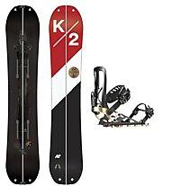 K2 Set Joy Driver Split Package: Splitboard + Bindung + Harscheisen