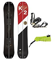 K2 Set Joy Driver Split Package: splitboard + attacco + rampant