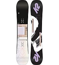 K2 Lime Lite - snowboard freestyle - donna, Black/White