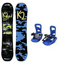 K2 Set snowboard Mini Turbo + attacco snowboard Mini Turbo - bambino