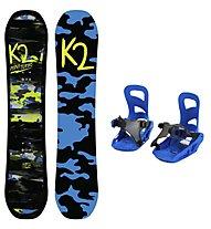 K2 Set Snowboard Mini Turbo + Snowboard-Bindung Mini Turbo