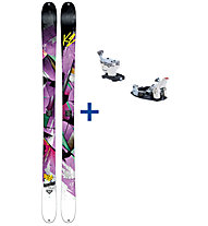 K2 Skis Remedy 92 Set: Ski+Bindung