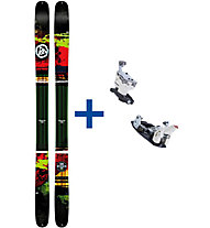 K2 Skis Shreditor 102 Set: Ski+Bindung