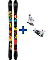 K2 Skis Shreditor 92 Set: Ski+Bindung