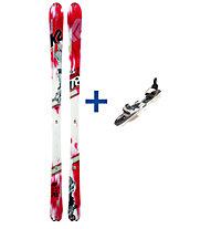 K2 Skis Shuksan Telemark Set: Ski+Bindung