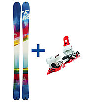 K2 SuperBright 90 FR Set: Ski+Bindung