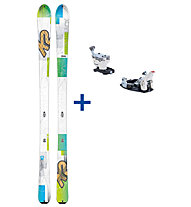 K2 Skis TalkBack 80 Set: Ski+Bindung