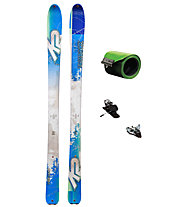 K2 Set Talkback 88 RB: Ski + Bindung + Felle